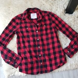 SO The Perfect Shirt Button Flannel Shirt